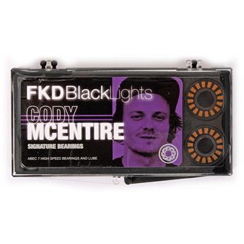 FKD  Roulements  Jeu De 8  Abec 7 Blacklight Cody Mc Entire