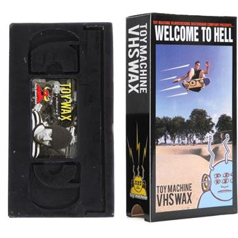 Wax Skateboard TOY Machine Wax Vhs
