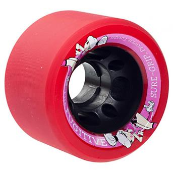 Roues Roller Derby SURE GRIP Fugitive 95A Pack de 8 Red