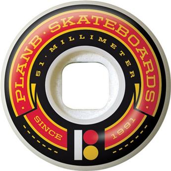 Roue Skateboard PLAN B Wheels  Jeu De 4  Team Banner 51mm