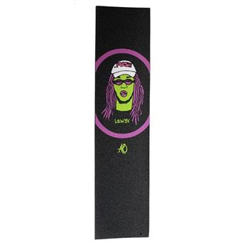 Grip Trottinette AO SCOOTERS  Griptape Cartoon Cory  Noir/Violet