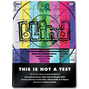 BLIND  Dvd This Is Not A Test
