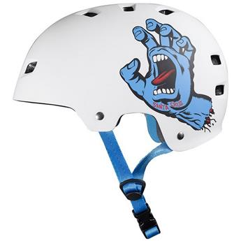 Casque  BULLET  Helmet  Casque  Screaming Hand White