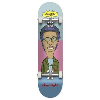 Plateau Skateboard CHOCOLATE Complete Hsu Medium 7.625 X 31.25