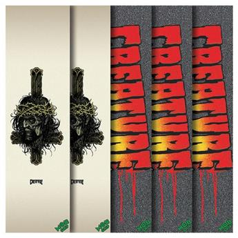 CREATURE SKATEBOARDS Grip Plaque Fall 17 Assorted