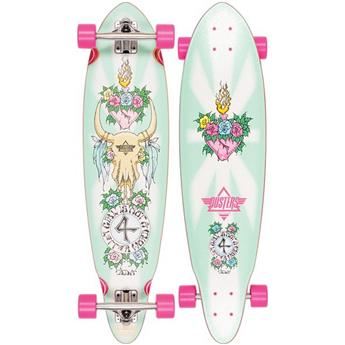 DUSTERS CALIFORNIA Complete Longboard Gn4lw Gypsy Queen 35 Pink