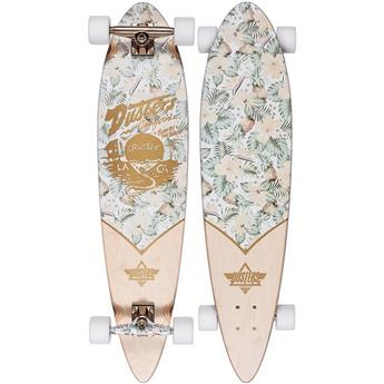 DUSTERS CALIFORNIA Complete Longboard Cruisin Kalea 37 White Gold