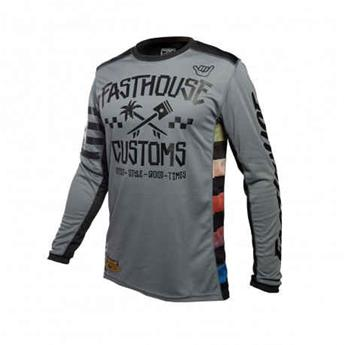 maillot moto FASTHOUSE enfant hawk grey