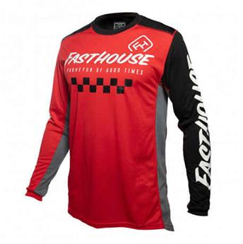 maillot moto FASTHOUSE  rally red black