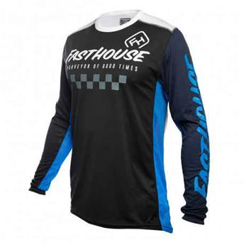 maillot moto FASTHOUSE  rally black blue