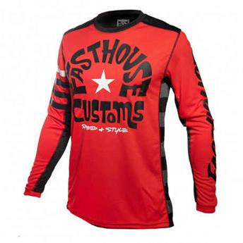 maillot moto FASTHOUSE  funkhouse red