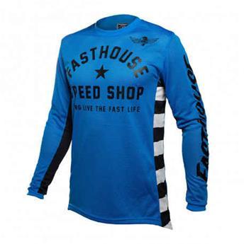 maillot moto FASTHOUSE  originals air cooled blue