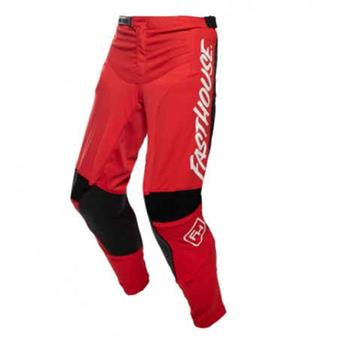 pantalon FASTHOUSE moto speedstyle raven red black