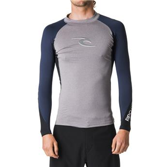 Lycra manches longues RIP CURL WAVE L/SL UV TEE  80 Grey