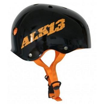Casque Wakeboard, Kitesurf et Windsurf ALK13 H2O+ CE EN 1385 Black / Orange Logo