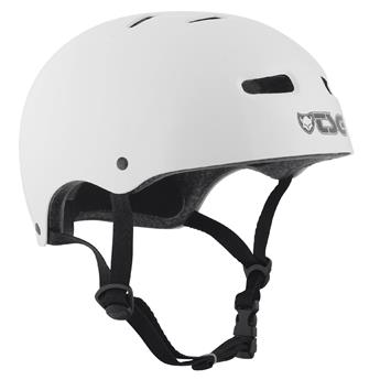Casque TSG TECHNICAL SAFETY GEAR  Skate/Bmx Injected Colors Helmet Blanc