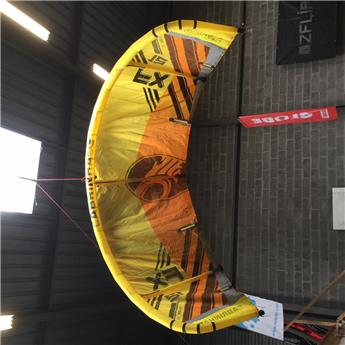 Aile Kitesurf Nue FX CABRINHA 2017 C3 Yellow/Orange 12,0 m² Occasion B