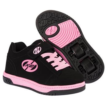 Chaussures à roulette HEELYS Dual Up (770231) Black/Pink