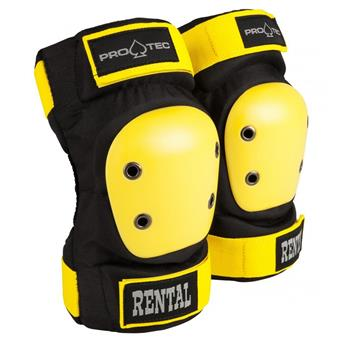 Coudière PRO-TEC Rental Elbow Junior Black/Yellow Y YOUTH