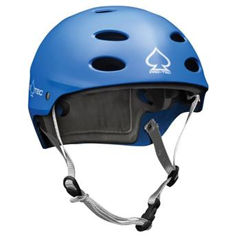 Casque Wakeboard, Kitesurf et Windsurf PRO-TEC Ace Water Matte Blue