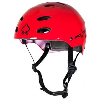 Casque Wakeboard, Kitesurf et Windsurf PRO-TEC Ace Water Gloss Red