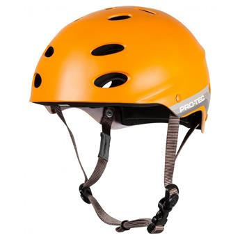 Casque Wakeboard, Kitesurf et Windsurf PRO-TEC Ace Water Satin Orange Retro