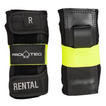 Protège poignet PRO-TEC Rental Wrist Guard Junior Black/Yellow Y YOUTH