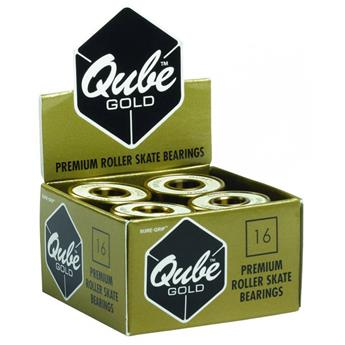 Roulement Roller QUBE Gold Swiss (pack of 16) 608 Gold 8 MM