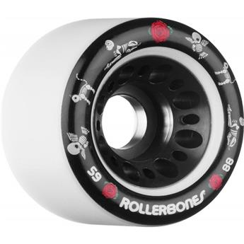 Roues Roller Quad (Pack de 4) ROLLERBONE Pet Day of the Dead White 59 MM