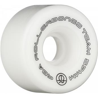 Roues Roller Quad (Pack de 8) ROLLERBONE Team Logo White 57 MM 98a