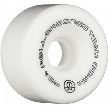 Roues Roller Quad (Pack de 8) ROLLERBONE Team Logo White 62 MM 98a