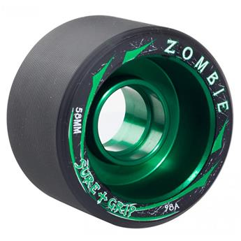 Roues Roller Quad (Pack de 4) SURE GRIP Zombie Low Green 59 MM 98a