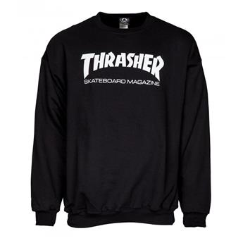 Sweat shirt THRASHER Skate Mag Crew Black