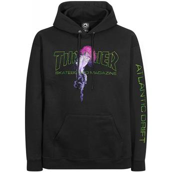 Sweat shirt THRASHER Atlantic Drift Black