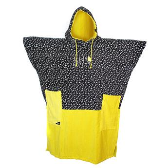 Poncho Surf V Poncho Surf FLASH ALL IN  Couleur Yellow Fluo/ALL-IN Print