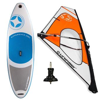 Pack Windsurf Gonflable complet et Gréement Dacron UNIFIBER
