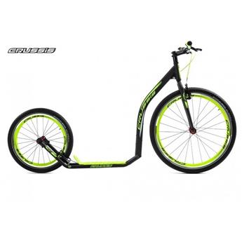 Trottinette Sportive Footbike CRUSSIS Urban 4.2 black green 26/20
