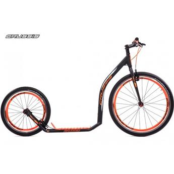 Trottinette Footbike CRUSSIS Urban 4.3 black orange 26/20