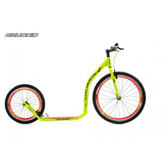 Trottinette Footbike CRUSSIS Urban 4.4 neon green 26/20