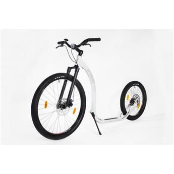 Trottinette Footbike KICKBIKE Cross Fix Blanc