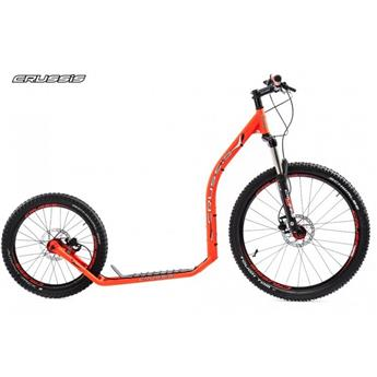 Trottinette Footbike CRUSSIS Cross 6.1 Orange 26/20 HD