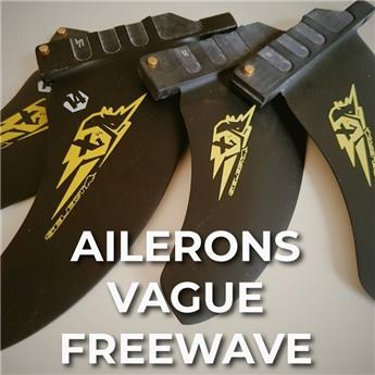 Ailerons Windsurf Vague Freewave