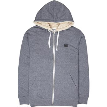 Veste Sweat BILLABONG ALL DAY SHERPA ZIP 21 NAVY