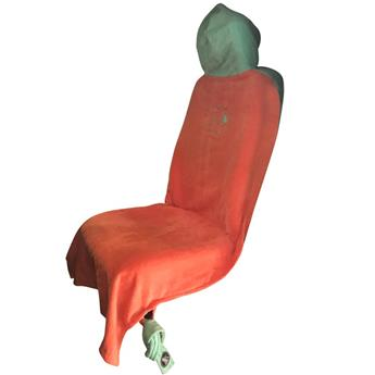 Housse de siège voiture SEAT COVER ALL IN  Couleur Coral / Turquoise