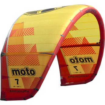 Aile kitesurf CABRINHA MOTO only 2019 C1 yellow/red 6,0