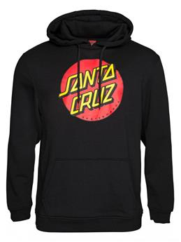 Sweat SANTA CRUZ CREW Classic Dot Hoody Black