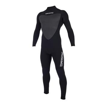 Combinaison surf MYSTIC Majestic Fullsuit 5/3mm back Zip 900 Black MT