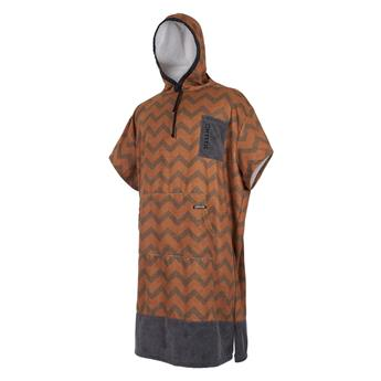 Poncho surf MYSTIC Allover 755 Seal Brown/Gold