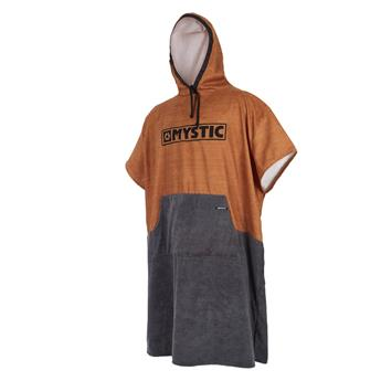 Poncho surf MYSTIC  755 Seal Brown/Gold