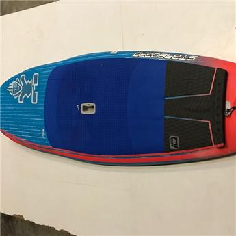 Board SUP Rigide HYPERNUT STARBOARD 2016 7´4´´x30´´ Brushed Carbon Occasion D
